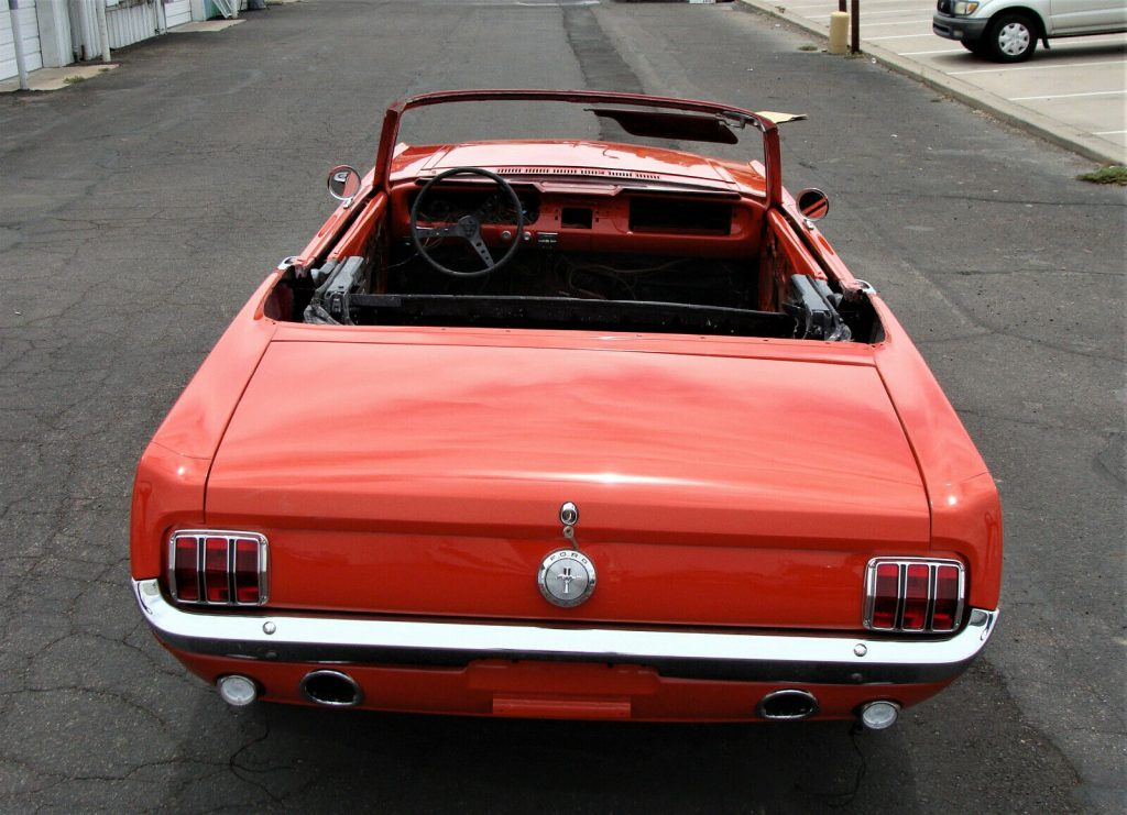 needs TLC 1966 Ford Mustang Convertible Project