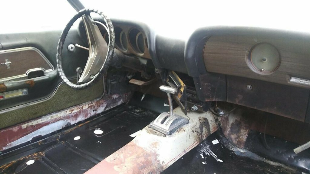new parts 1969 Ford Mustang project