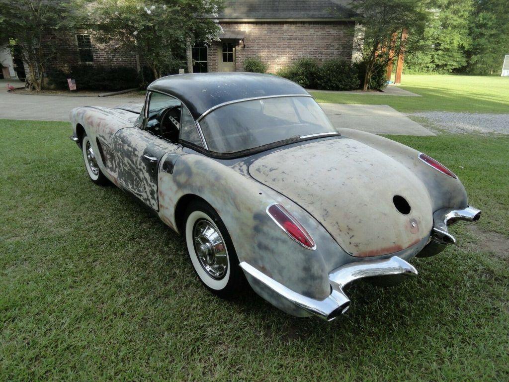 original 1960 Chevrolet Corvette project