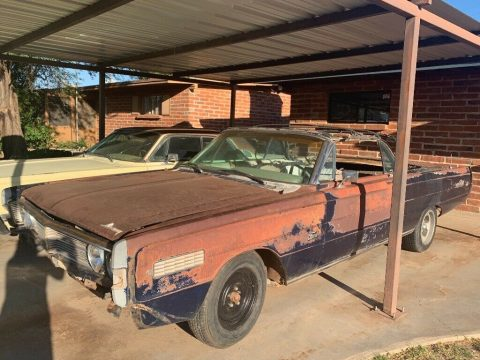 solid 1966 Mercury S 55 Convertible project for sale