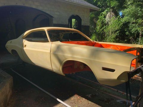 340 6 pack Restomod 1970 Dodge Challenger Project for sale