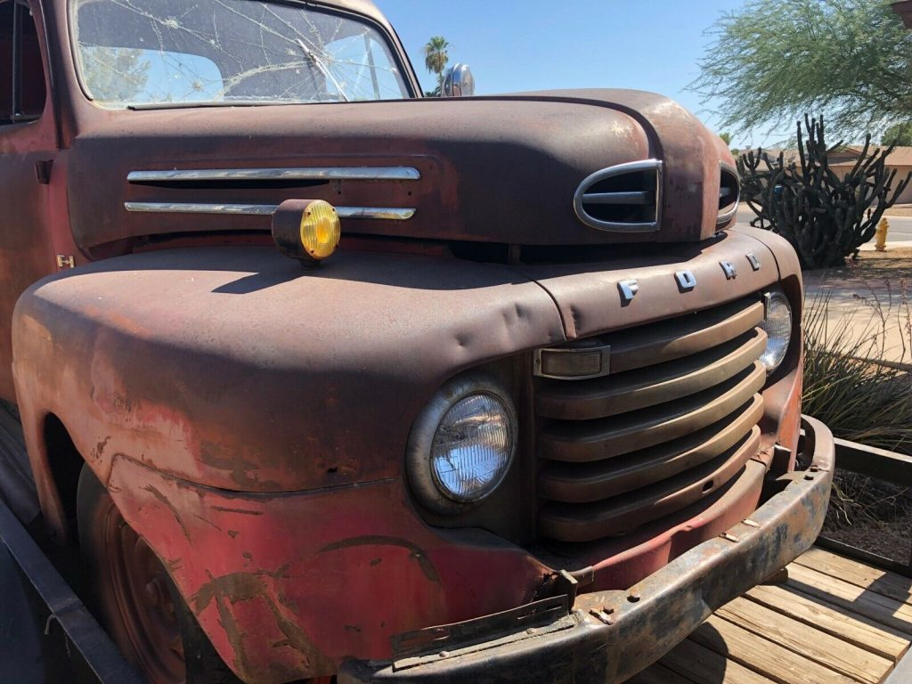 barn find 1948 ford F1 Pickup project