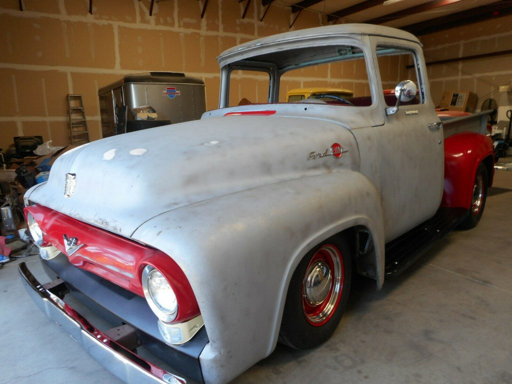 custom 1956 Ford F 100 Big Window pickup project