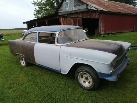 gasser 1955 Chevy Belair Project for sale