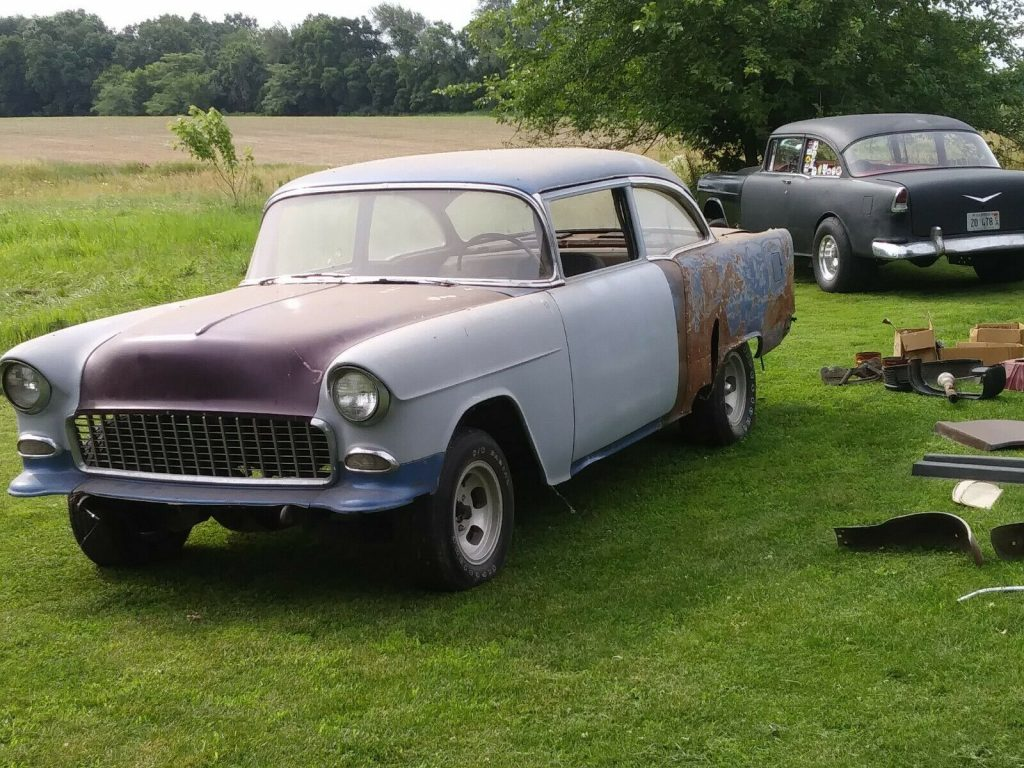 gasser 1955 Chevy Belair Project
