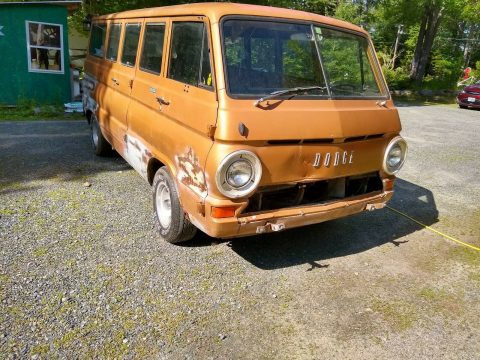 great potential 1969 Dodge A108 Van project for sale
