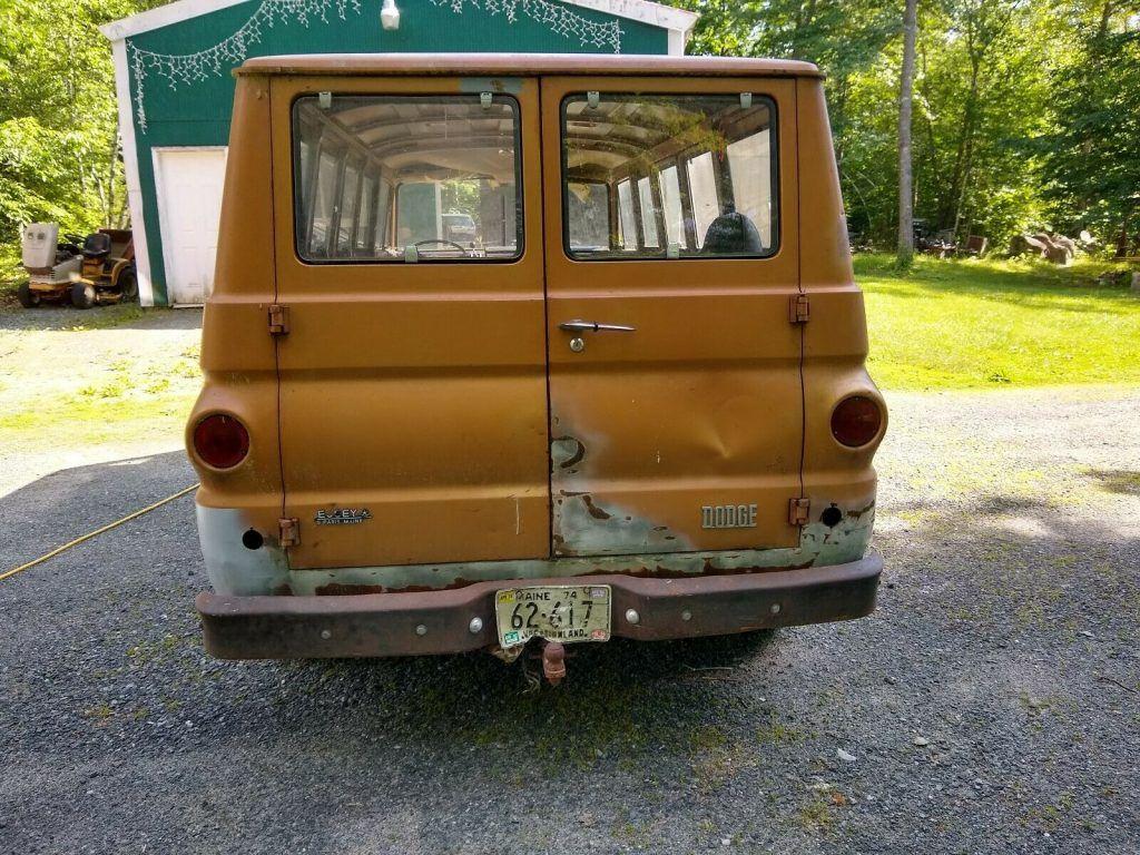 great potential 1969 Dodge A108 Van project