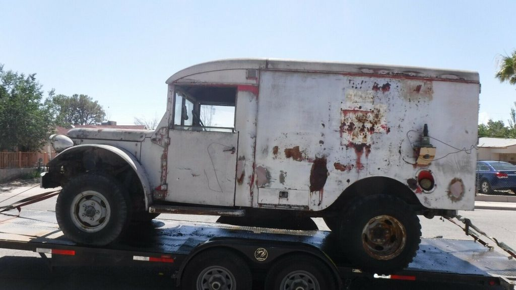 military 1953 Dodge 4X4 Ambulance Project