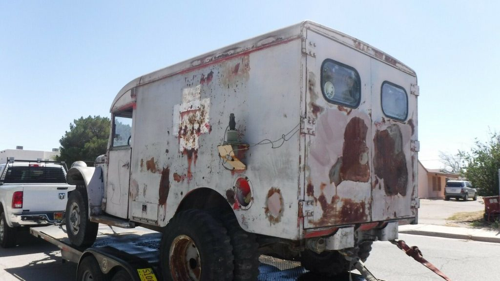 military 1953 Dodge 4X4 Ambulance Project