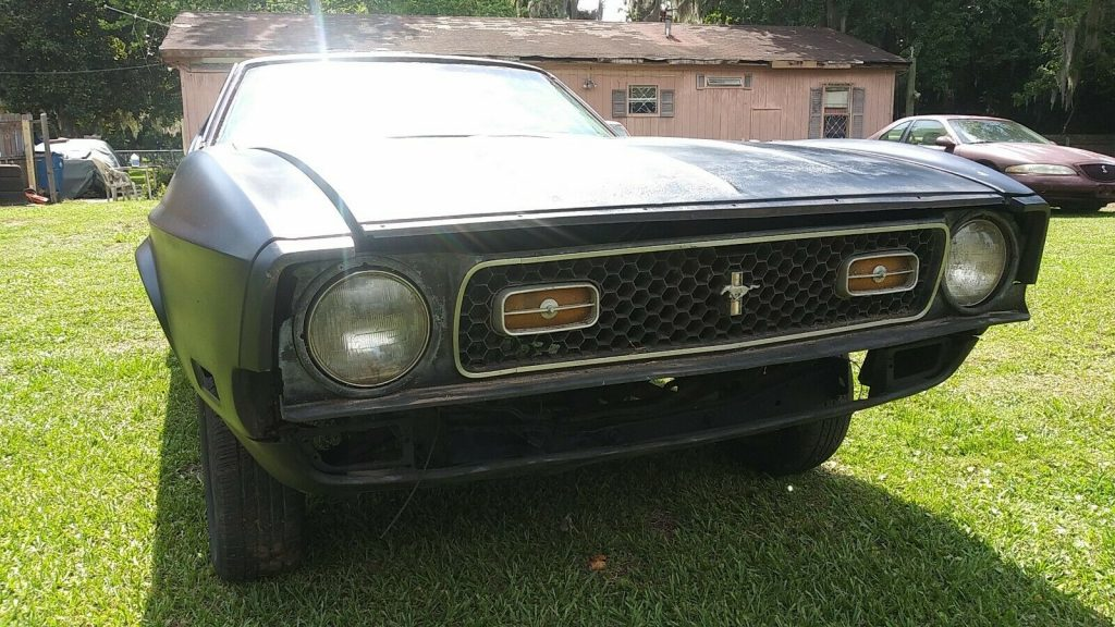 missing drivetrain 1972 Ford Mustang Fastback Project