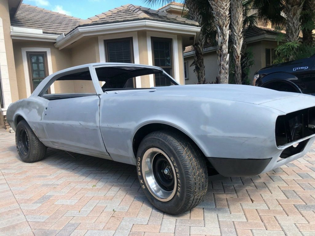 mostly complete 1967 Chevrolet Camaro Project for sale