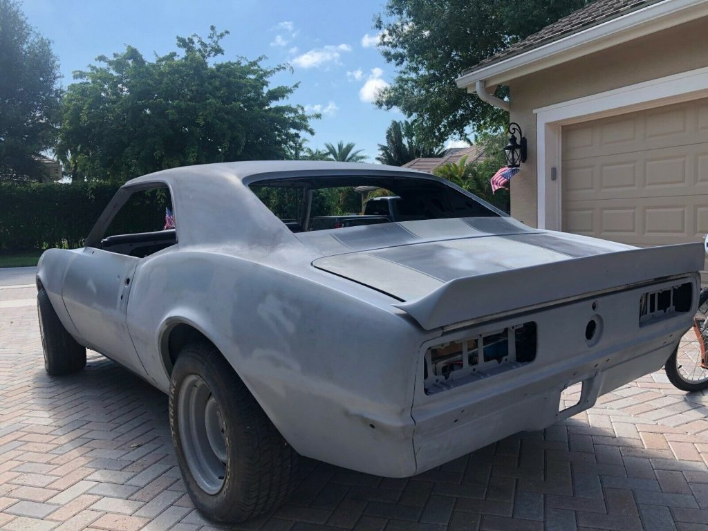 mostly complete 1967 Chevrolet Camaro Project