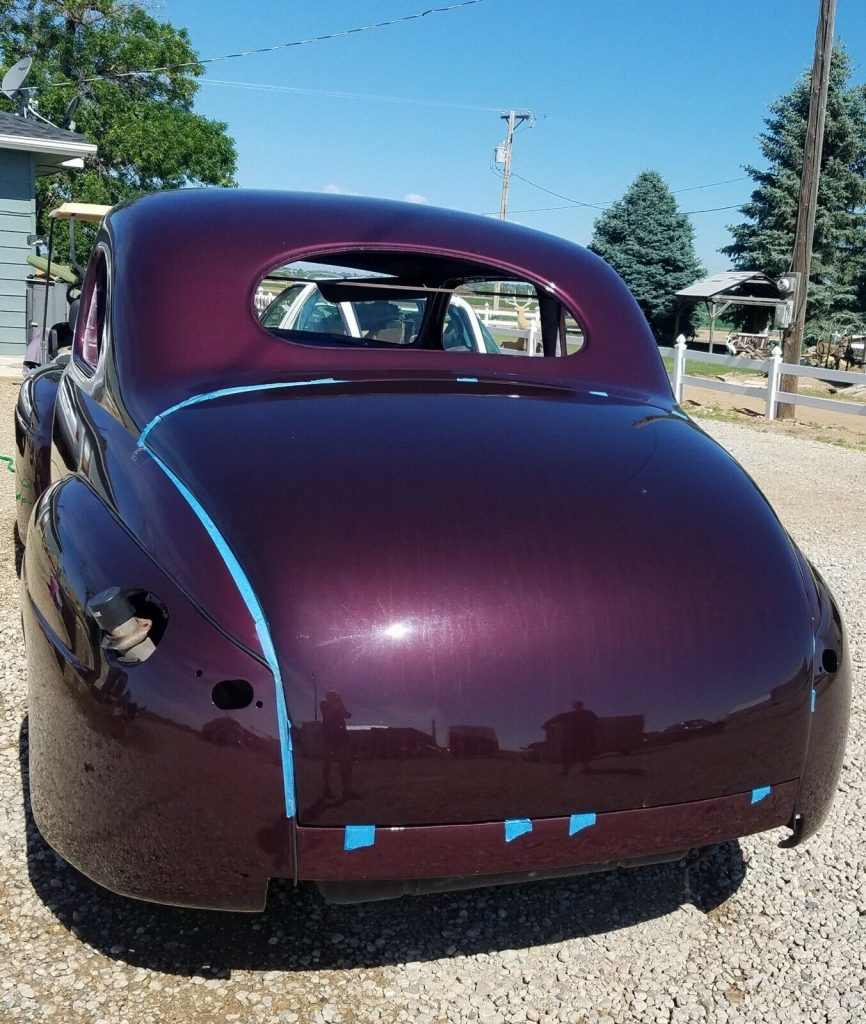 nearly complete 1947 Ford Coupe Custom hot rod project
