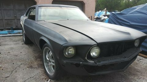 new sheet metal 1969 Ford Mustang Grande Coupe Project for sale