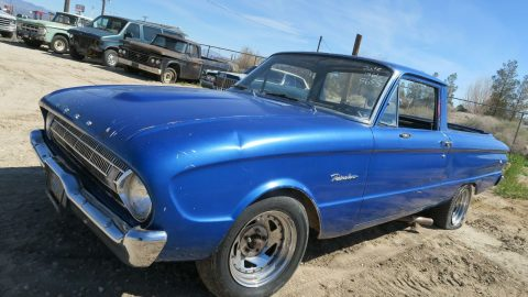 non running 1961 Ford Ranchero project for sale