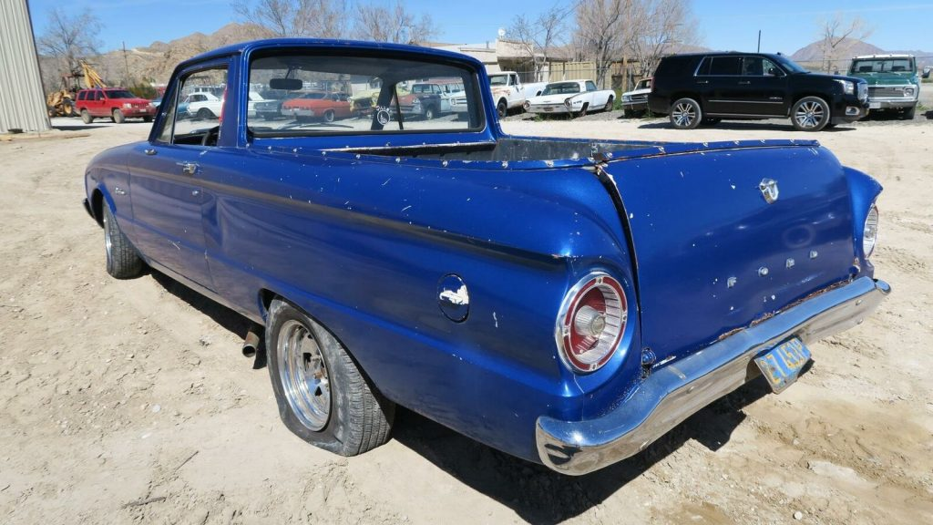 non running 1961 Ford Ranchero project