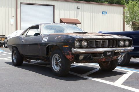 rare 1971 Plymouth Barracuda project for sale