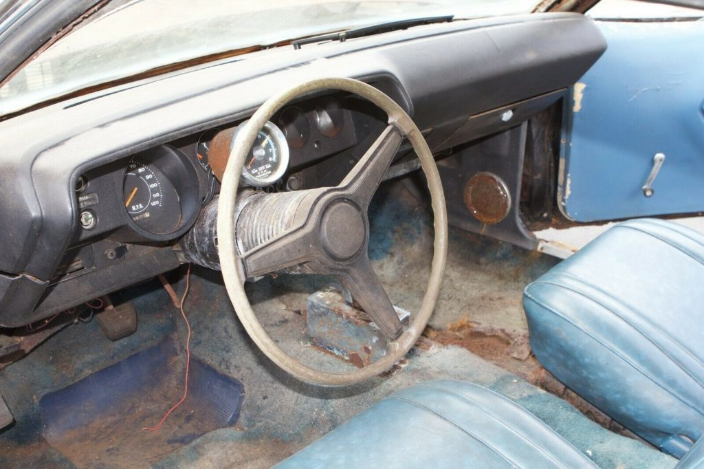 rare 1971 Plymouth Barracuda project