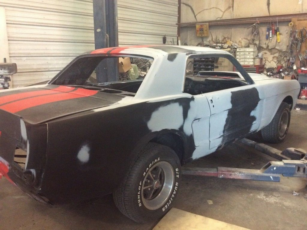 ready for paint 1965 Ford Mustang project