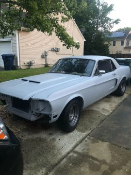 Restomod 1968 Ford Mustang project for sale