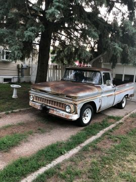 rough but tough 1963 Chevrolet pickup project for sale