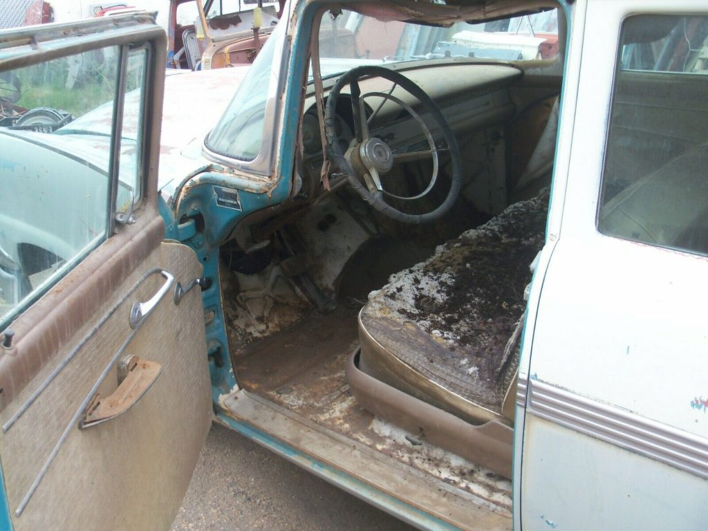 solid 1956 Ford Fairlane Town Sedan Project