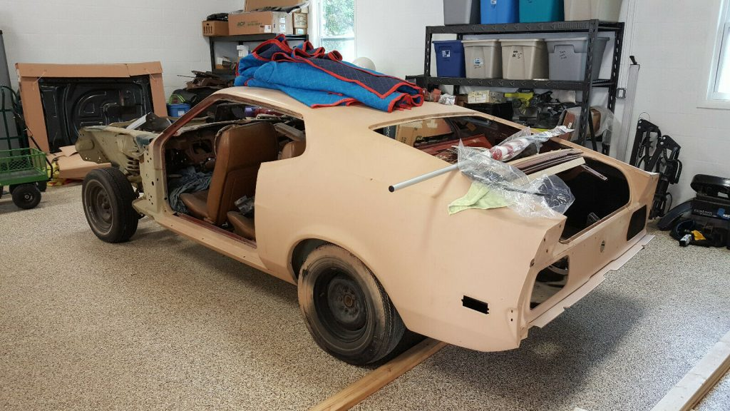 very solid 1973 Mustang Mach 1 Project