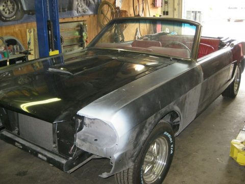 1966 Ford Mustang Convertible project for sale