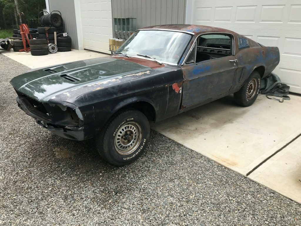 4 Speed 1968 Mustang Fastback 289 V8 project
