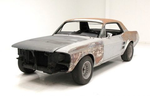 barn find 1967 Ford Mustang Coupe project for sale
