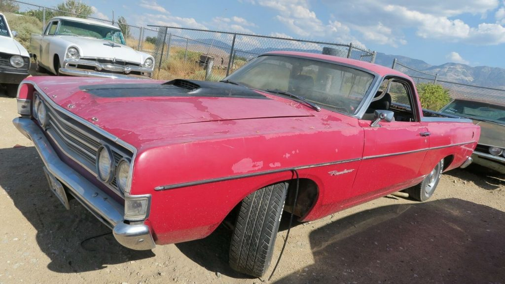 GT Options 1969 Ford Ranchero project