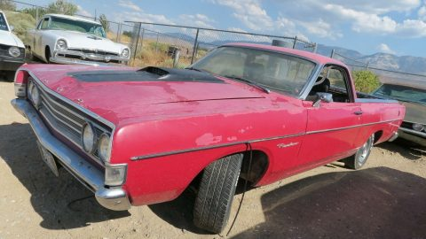 GT Options 1969 Ford Ranchero project for sale