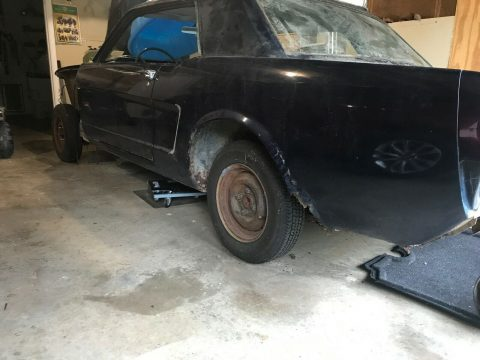 many new parts 1965 Ford Mustang Coupe project for sale