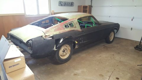 new parts 1967 Ford Mustang project for sale