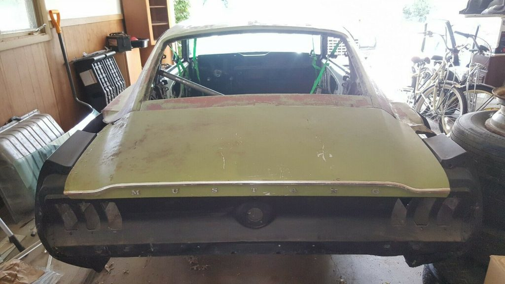 new parts 1967 Ford Mustang project