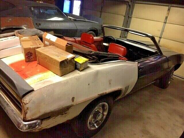 new parts 1969 Chevrolet Camaro RS SS Convertible project