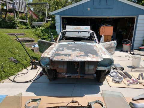 restomod 1965 Ford Mustang project for sale