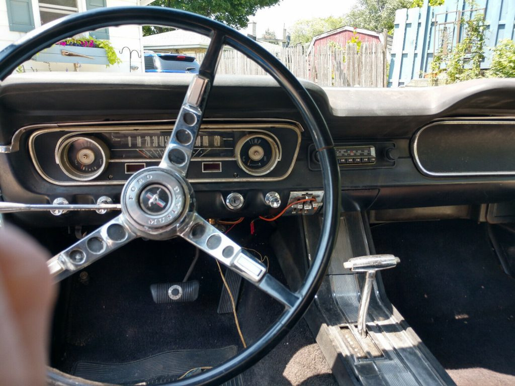restomod 1965 Ford Mustang project