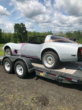 restored frame 1979 Chevrolet Corvette project for sale