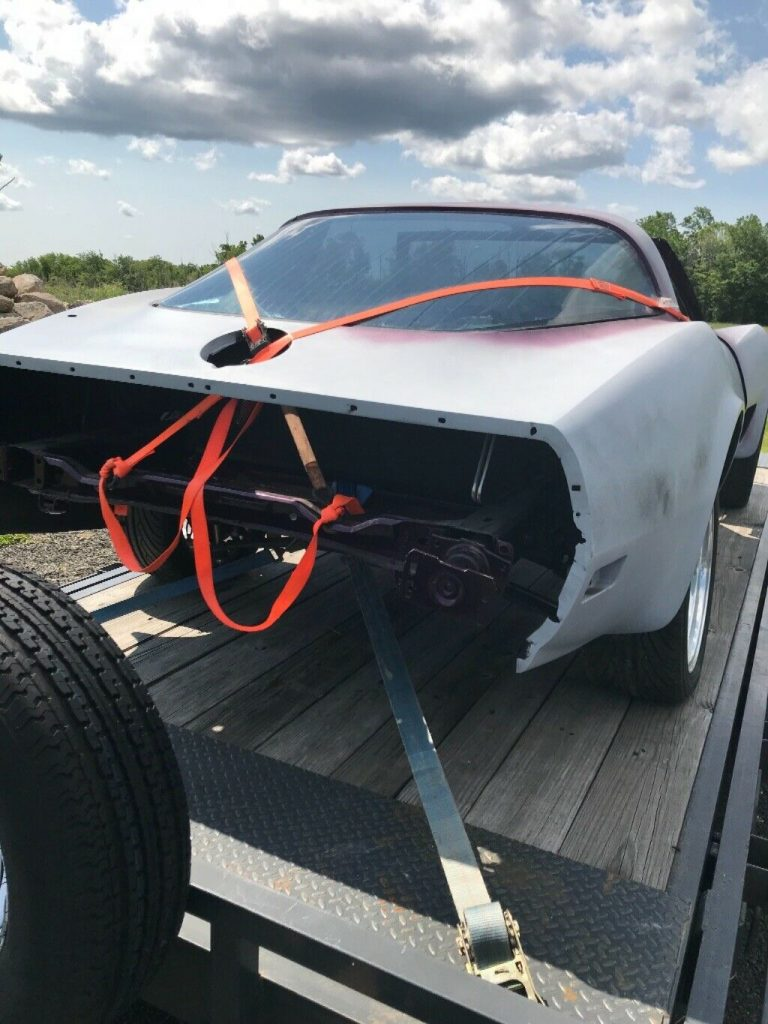 restored frame 1979 Chevrolet Corvette project