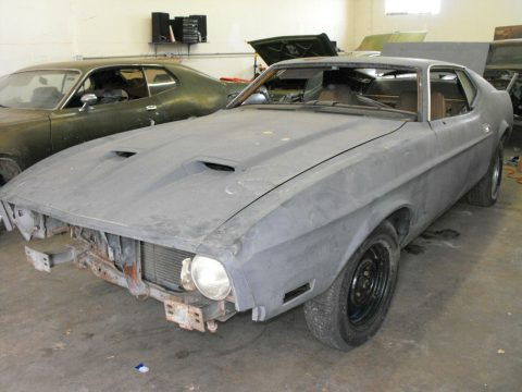 rust free 1973 Ford Mustang project for sale