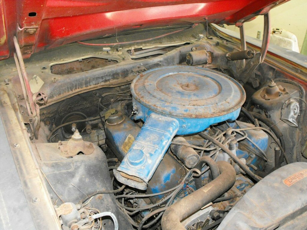 rust free 1973 Ford Mustang project