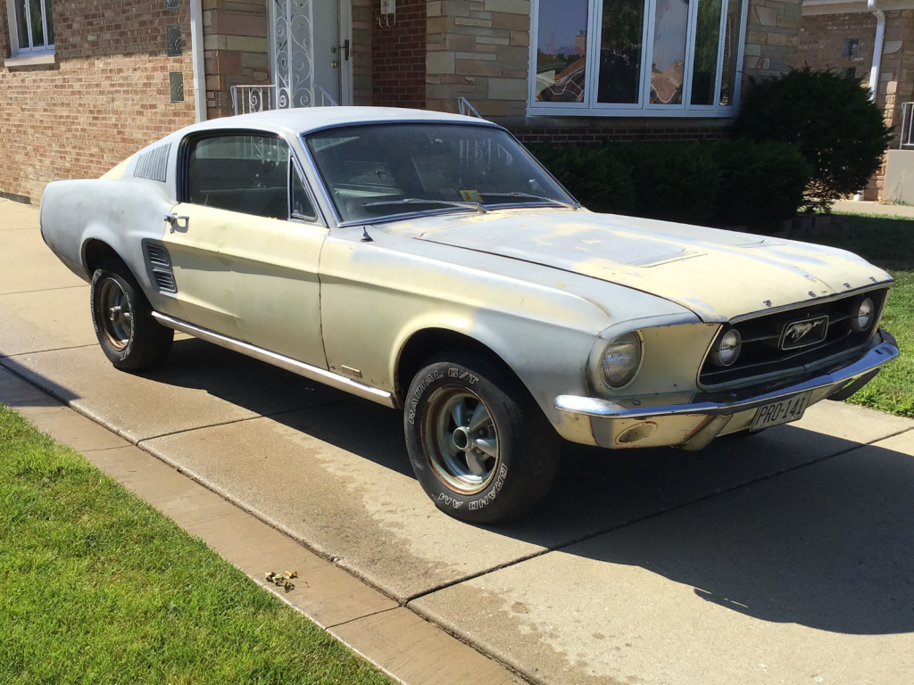 solid 1967 Ford Mustang project