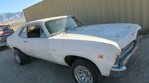 clean 1969 Chevrolet Nova Project for sale