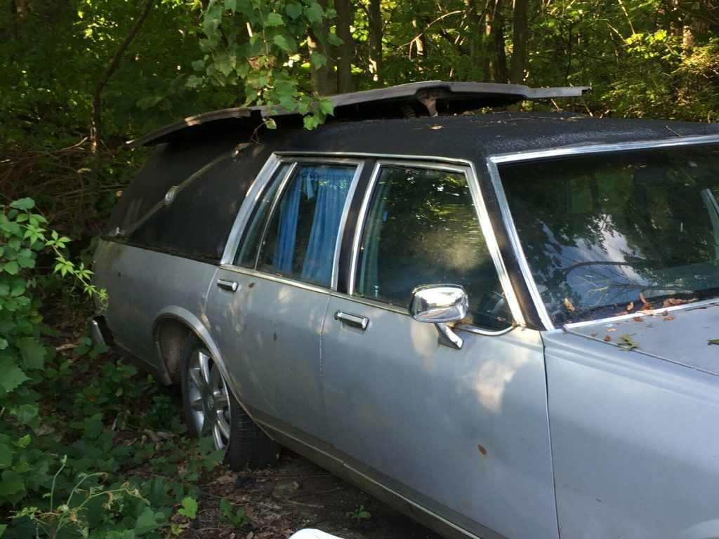 converted Hearse 1982 Buick LeSabre project