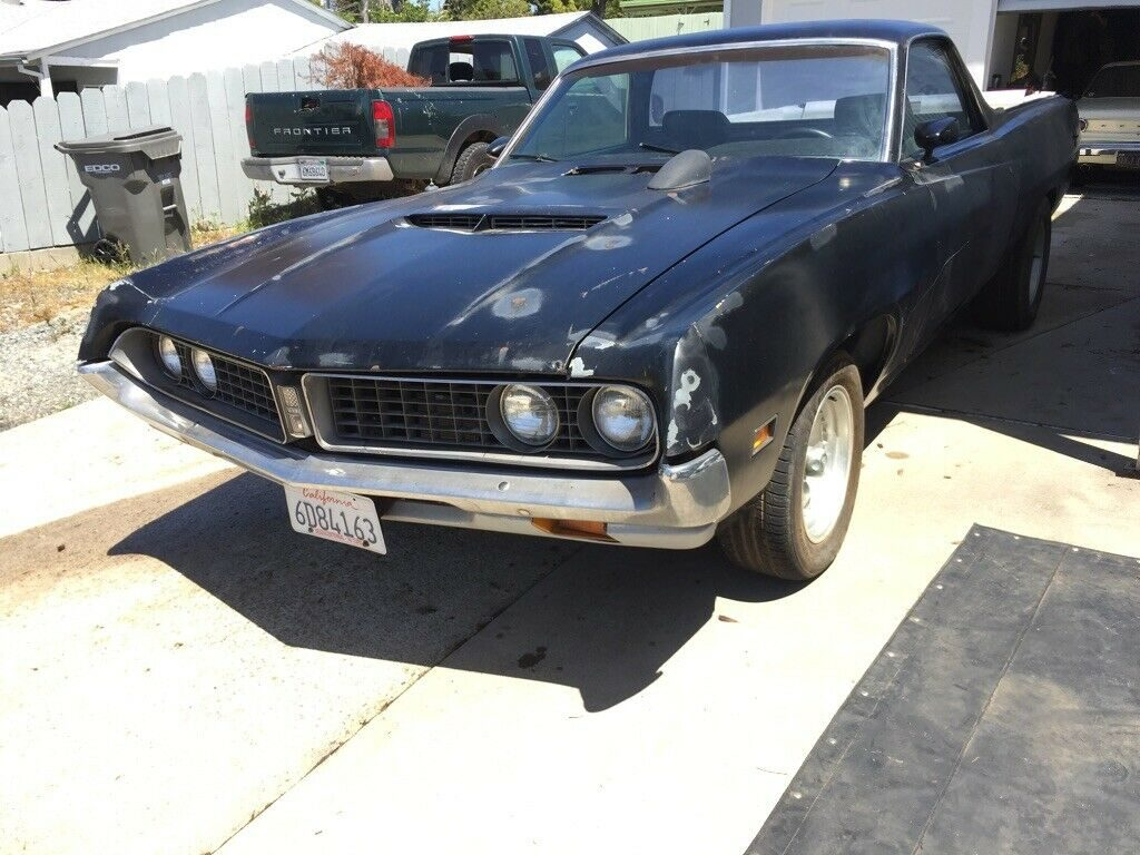 extra parts 1971 Ford Ranchero vintage project