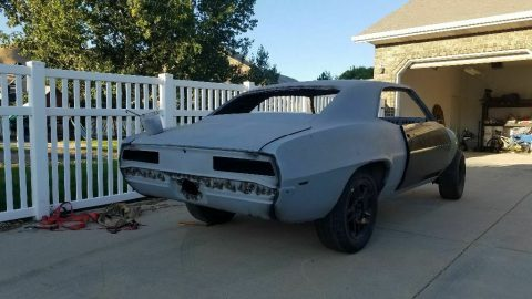 lots of new parts 1969 Camaro SS Clone project for sale