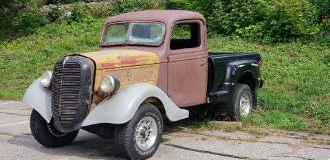 needs work 1937 Ford Pickup rat rod project for sale