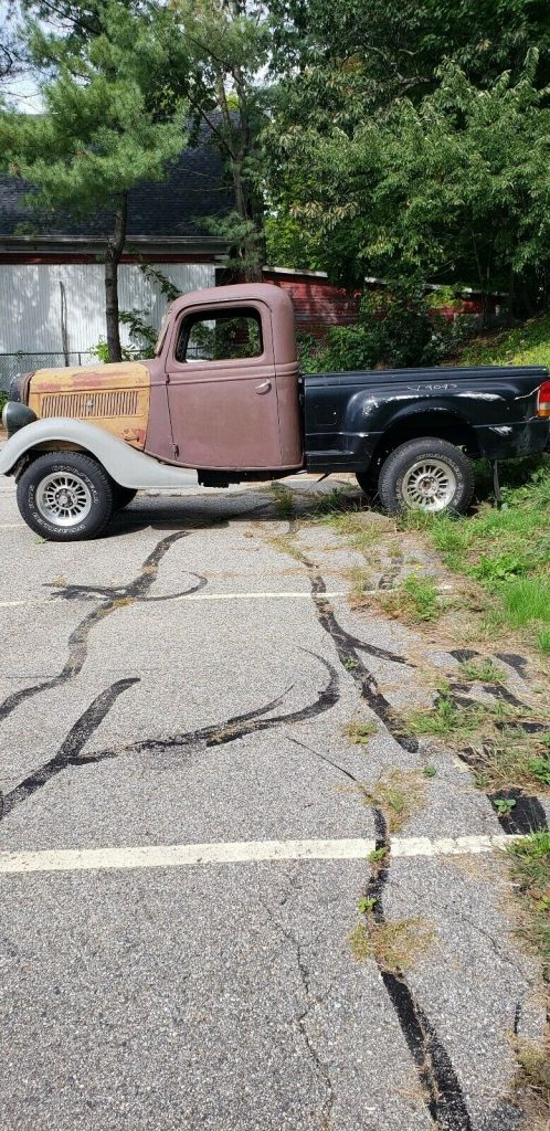needs work 1937 Ford Pickup rat rod project