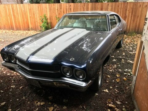 needs work 1970 Chevrolet Chevelle Malibu project for sale